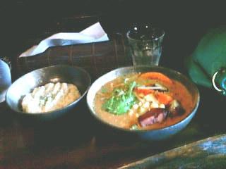 《侍》のスープカレー