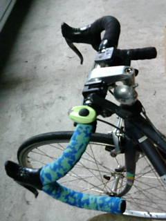 自転車リフォーム中